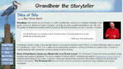 Grand Bear the Storyteller Custom Website Design
