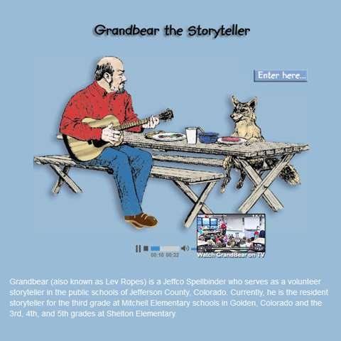Grandbear the Storyteller Website Review