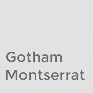 Free Alternative to Gotham Font - Web Design by Trishah