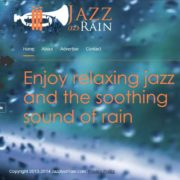 When you just need to concentrate… Jazz and Rain