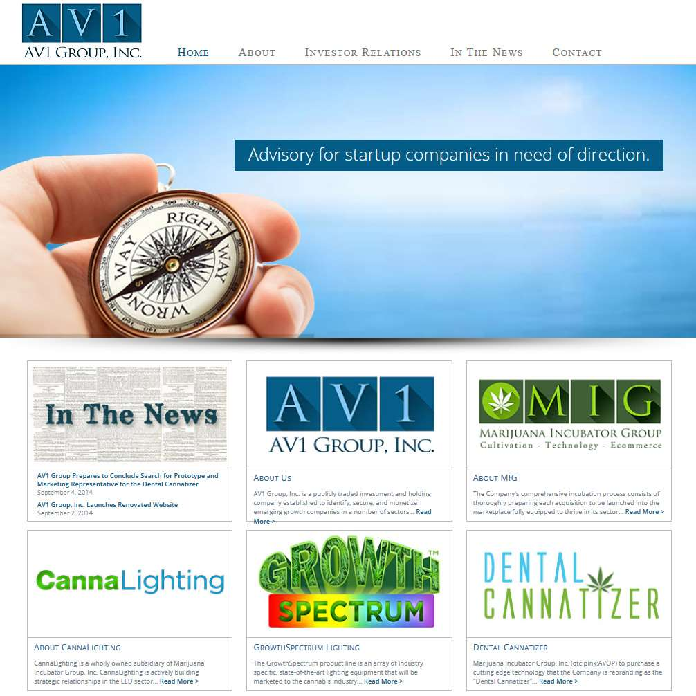AV! Group Website Design