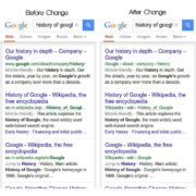 Google changes URLs in search results
