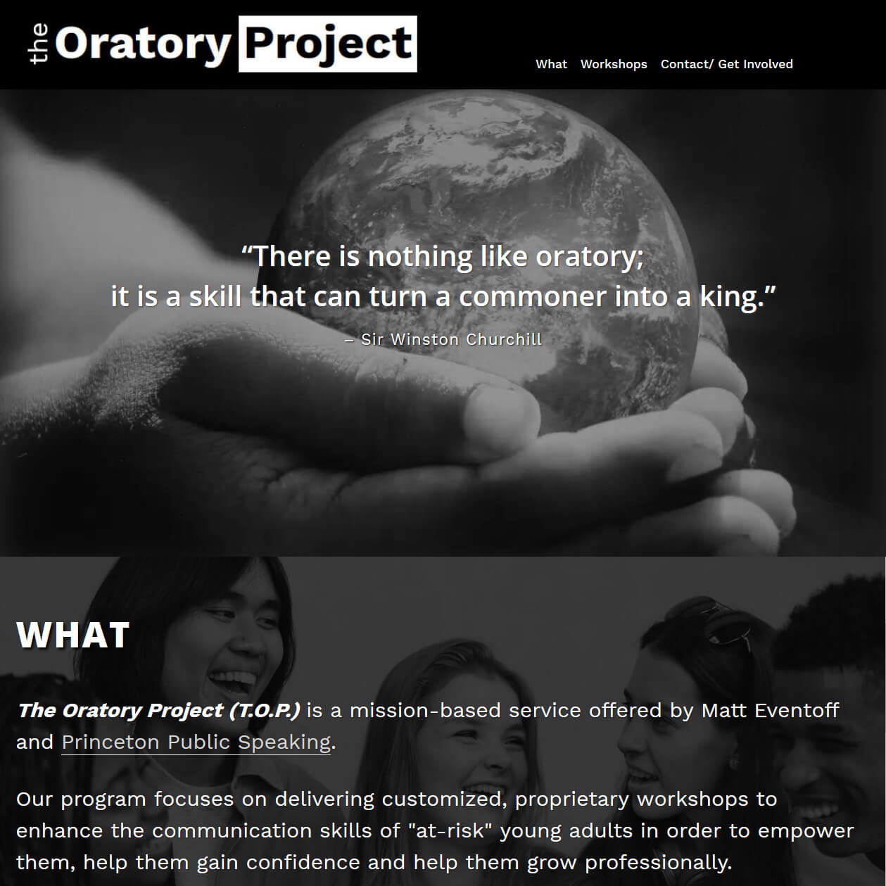 The Oratory Project