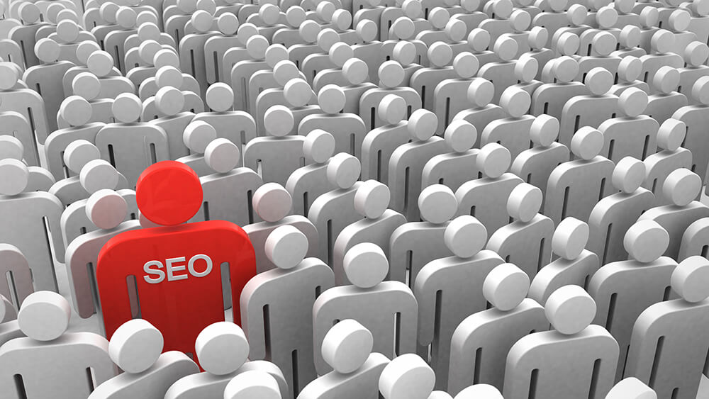 SEO A-B-C's | SEO makes you stand out from the crowd